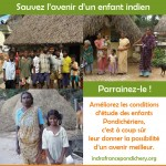AFFICHE INDRA FRANCE PONDICHERY